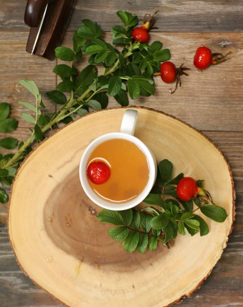 A tart and slightly fruity tea this wild rose hip tea is excellent for use in combating colds and flu's due to it's high Vitamin C content.