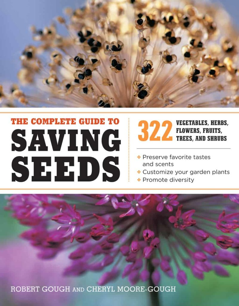 cover of the complete gude to saving seeds book